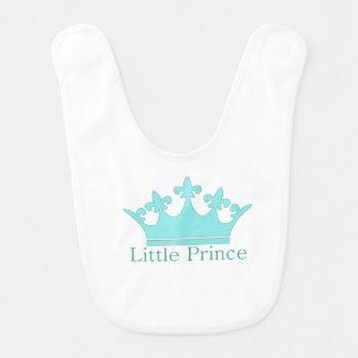 Bavoir Petit prince - un bébé royal