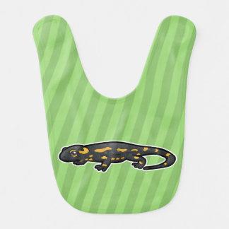 Bavoir Salamandre de feu