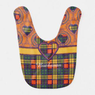 Bavoir Tartan d'écossais de plaid de clan de Buchanan