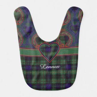 Bavoir Tartan d'écossais de plaid de clan de Lennox