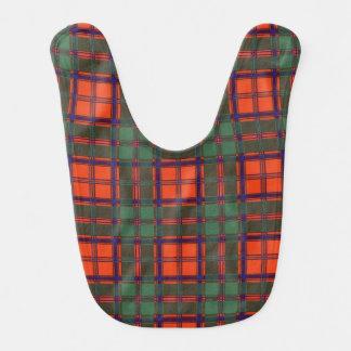Bavoir Tartan écossais de kilt de plaid de clan de