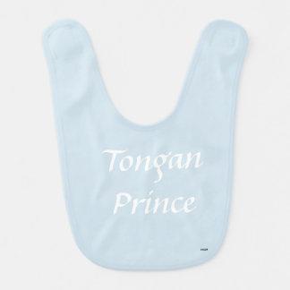 Bavoir tongan de prince