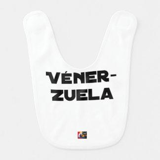 Bavoir VÉNER-ZUELA - Jeux de mots - Francois Ville
