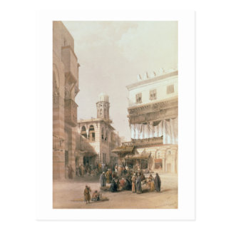 Bazar des chaudronniers de cuivre, le Caire, de Carte Postale
