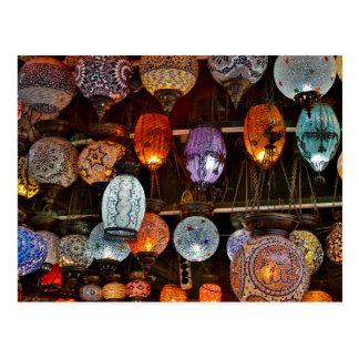 Bazar grand à Istanbul, Turquie Carte Postale
