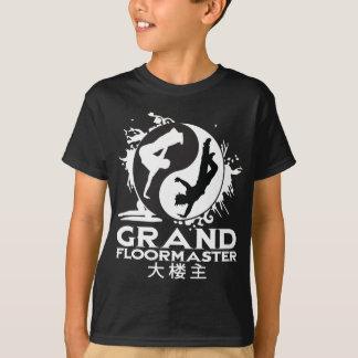 Bboy Floormaster_Wht grand T-shirt