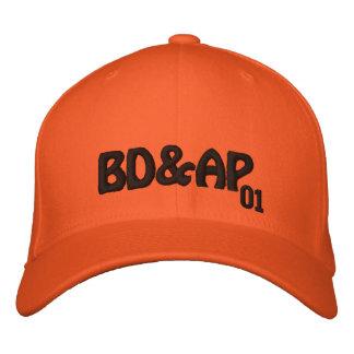 """BD&AP """"01"""" casquette 2 Casquette Brodée"""