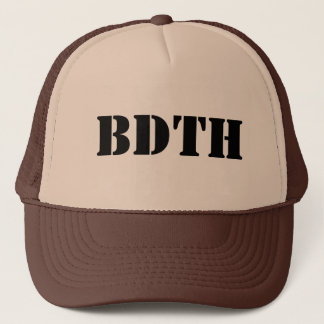 BDTH logo Casquette De Camionneur