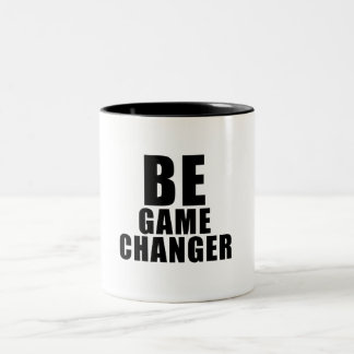 BE game changer Tasse 2 Couleurs