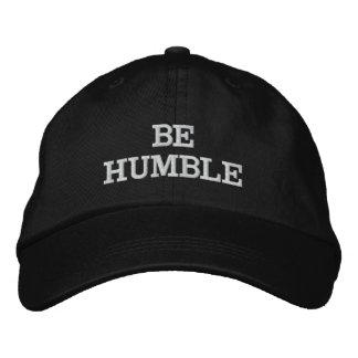 BE HUMBLE HAT CASQUETTE BRODÉE