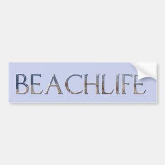 BEACHLIFE AUTOCOLLANT DE VOITURE