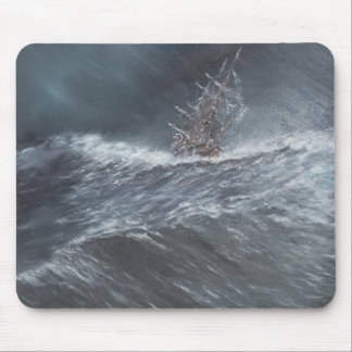 Beagle de voie HMP dans une tempête outre du Cap Tapis De Souris