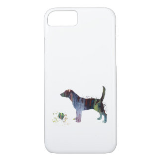 Beagle et jouet coque iPhone 7