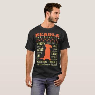 Beagle l'amical de confiance aimant mal compris t-shirt
