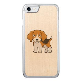 Beagle mignon coque carved pour iPhone 7