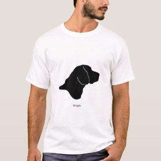 Beagle - silhouette noire t-shirt
