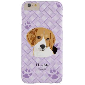 Beagle sur l'armure 6/6s de lavande+ coque barely there iPhone 6 plus
