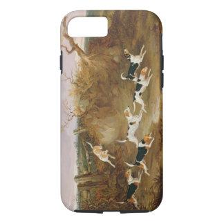 Beagles entièrement…, 1845 (huile sur la toile) coque iPhone 8/7