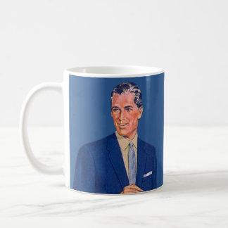 beau autour du bureau mug
