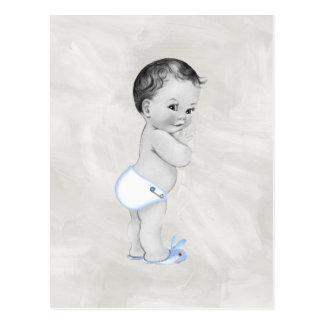 Beau bébé vintage carte postale