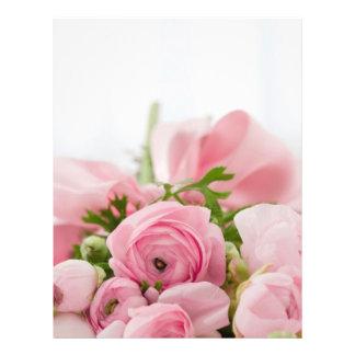 Beau bouquet rose prospectus 21,6 cm x 24,94 cm