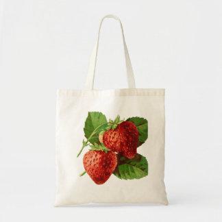 Beau budget Fourre-tout de fruit de fraise Sac