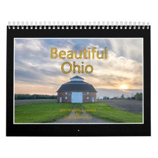 Beau calendrier de l'Ohio 2017 par Thomas Minutolo