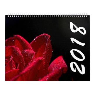 Beau calendrier des fleurs 2018
