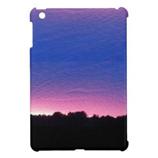 Beau cas de coucher du soleil coques pour iPad mini