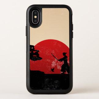 Beau cas samouraï japonais de l'iPhone X de