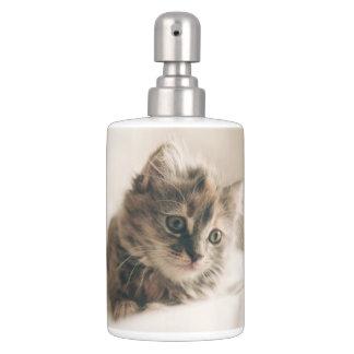 Beau chaton doux Kitty de chat Accessoires De Salle De Bains