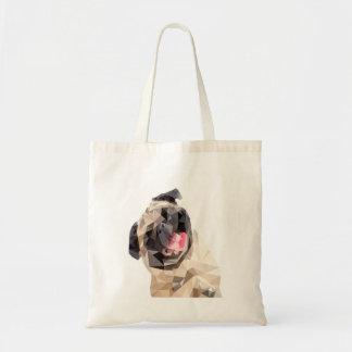 Beau chien de balais sacs fourre-tout