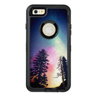 Beau ciel nocturne brillant jusqu'aux cieux coque OtterBox iPhone 6 et 6s plus