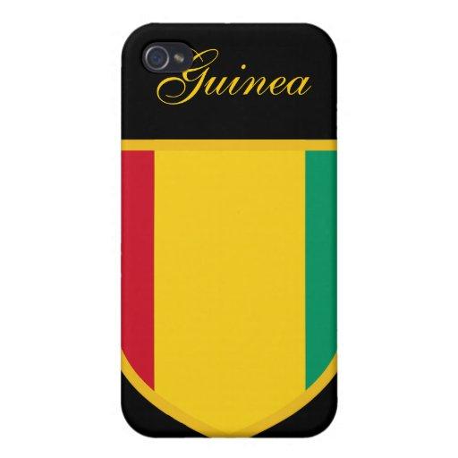 Beau drapeau de Guinée Étuis iPhone 4