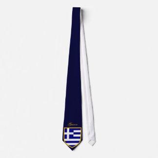 Beau drapeau de la Grèce Cravate