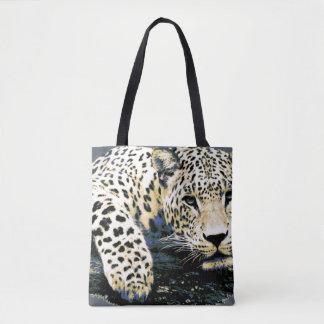 Beau graphique de léopard sac