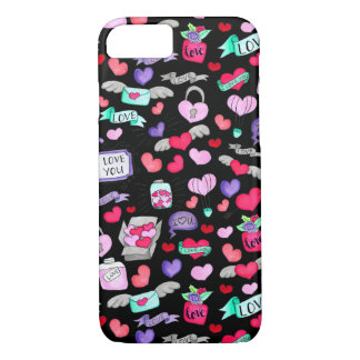 Beau griffonnage coque iPhone 7