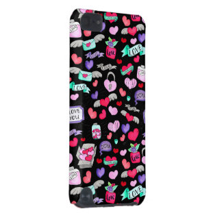 Beau griffonnage coque iPod touch 5G