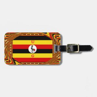 Beau Hakuna extraordinaire Matata bel Ouganda Colo Étiquette Pour Bagages