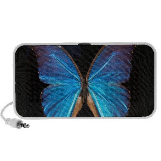 Beau haut-parleur bleu exotique de mp3 de concepti