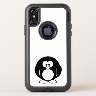 beau heureux de bébé de pingouin de joie animale