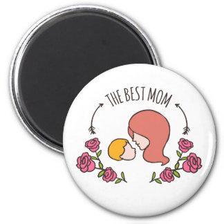Beau le meilleur aimant du jour de mère de maman |