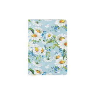 Beau motif floral lumineux élégant 2 protège-passeports