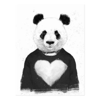 Beau panda carte postale