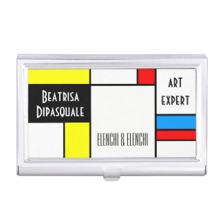 Beau personnalisable unique d'art moderne étui pour cartes de visite