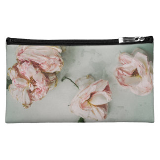 Beau sac rose de maquillage