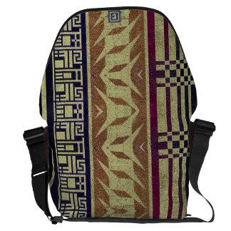 Beau sac tribal géométrique d'ordinateur portable besace