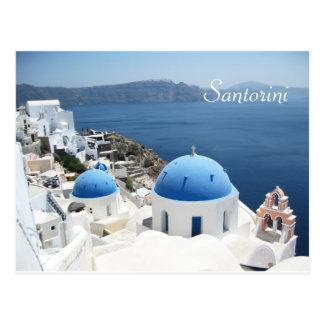 Beau Santorini Grèce Carte Postale