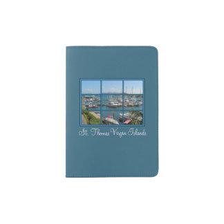 Beau support de passeport de St Thomas Îles Protège-passeports