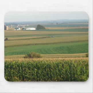 Beau tapis de souris de paysage de Midwest